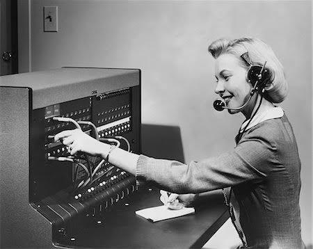 eski telefon santrali