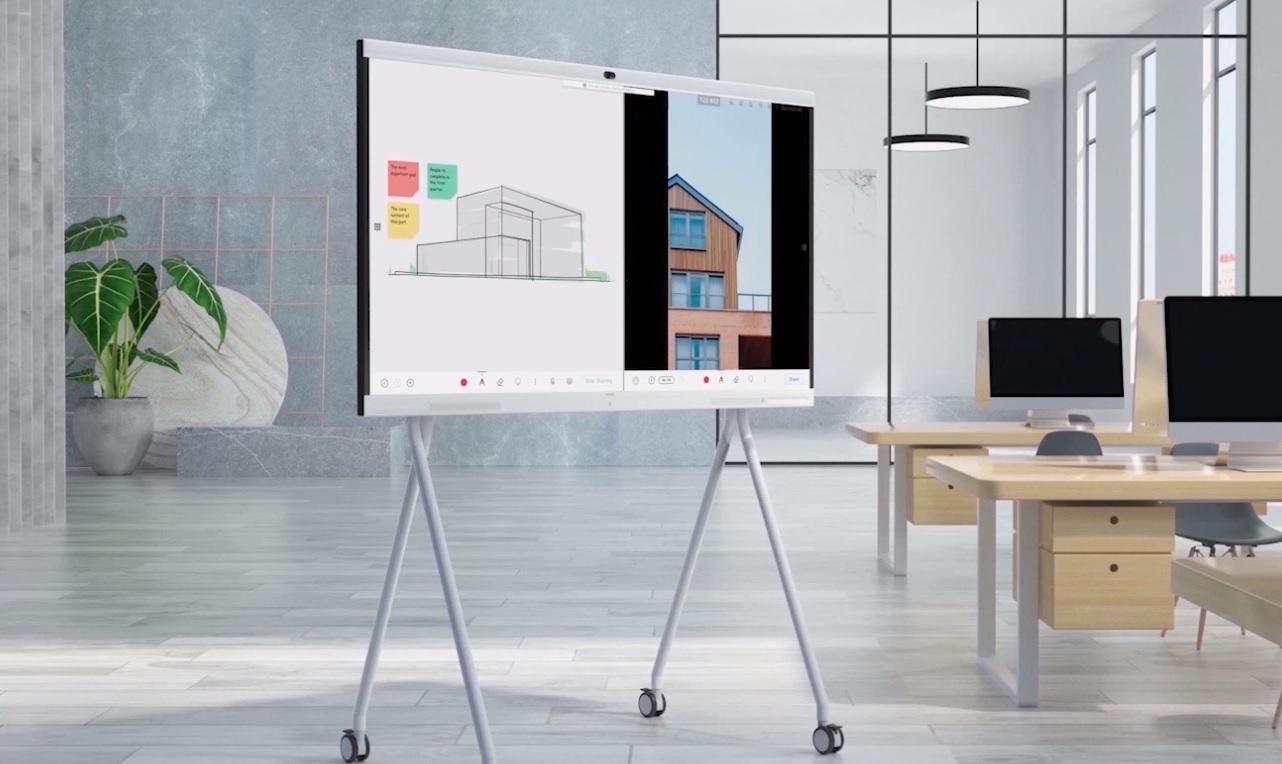 Huawei ideahub akıllı tahta ve video konferans birarada